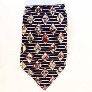 Vintage Nicole Miller Silk Doctor's Novelty Tie